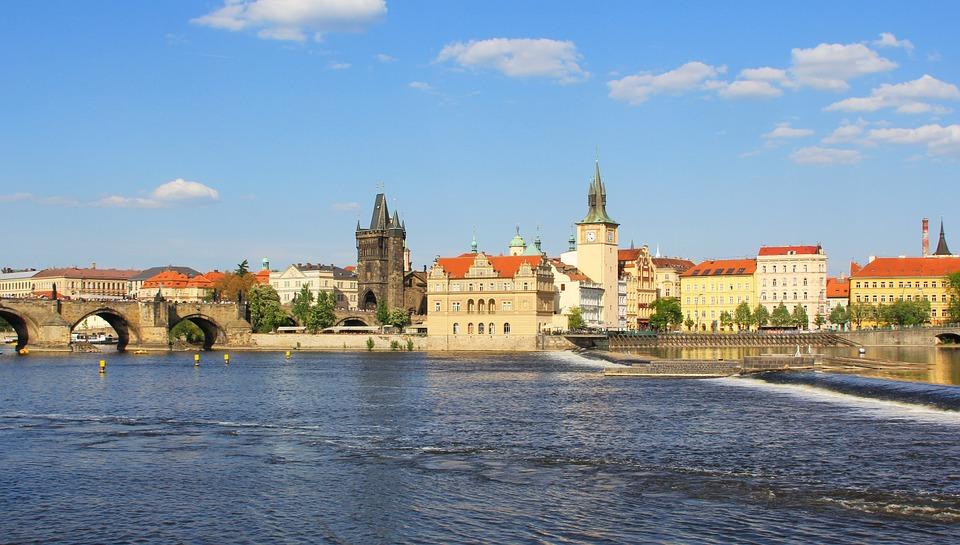 Прага в Августе