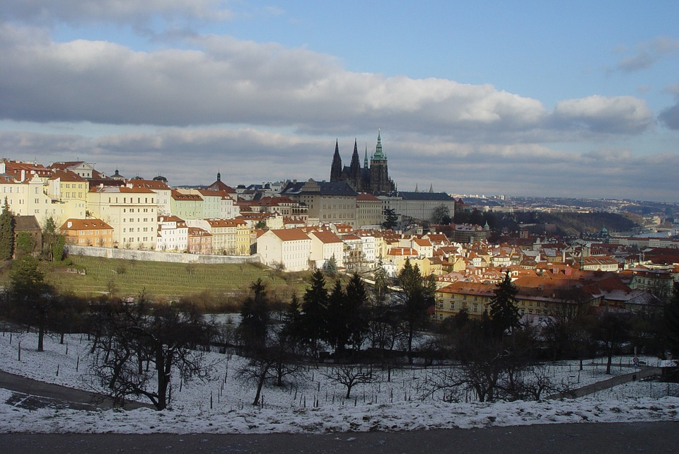 Прага в Январе
