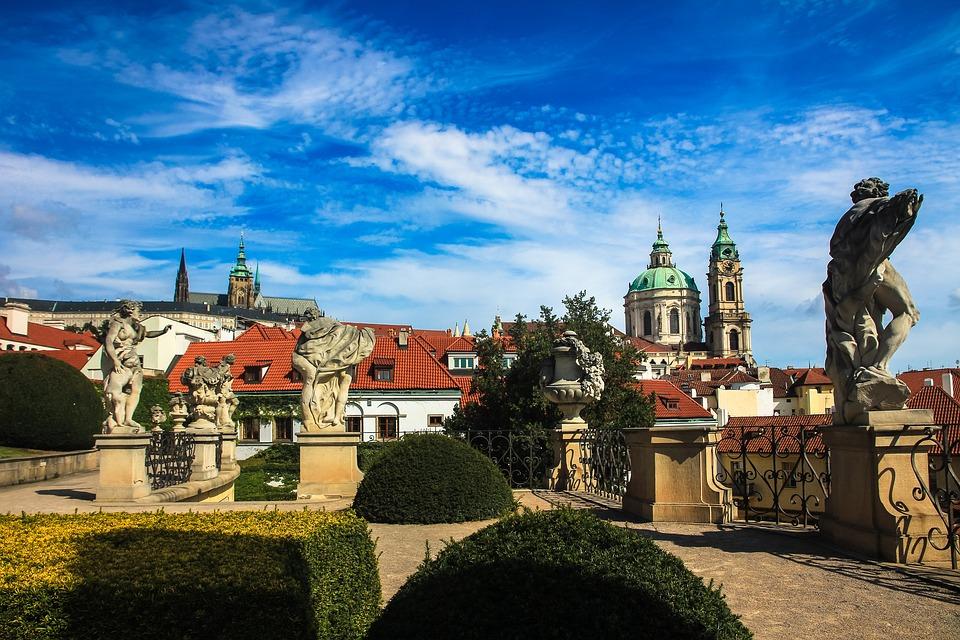 Прага в Июне