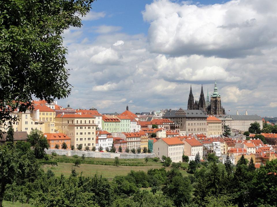 Прага в мае