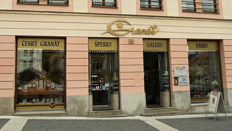 Магазин Granat Turnov