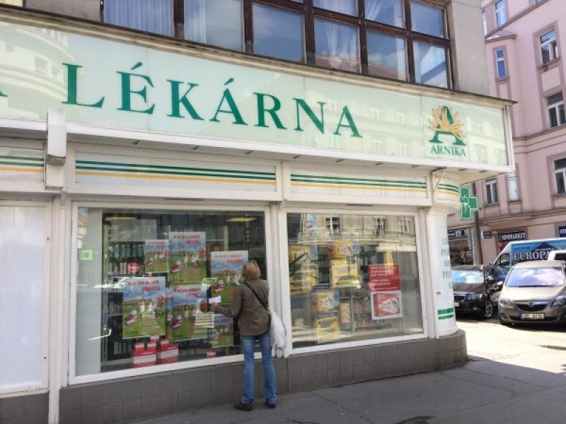 Аптеки в Праге