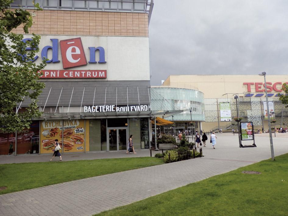 Nákupní centrum Eden (Эден) в Праге
