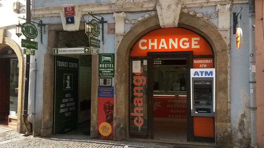 Обменники в Праге