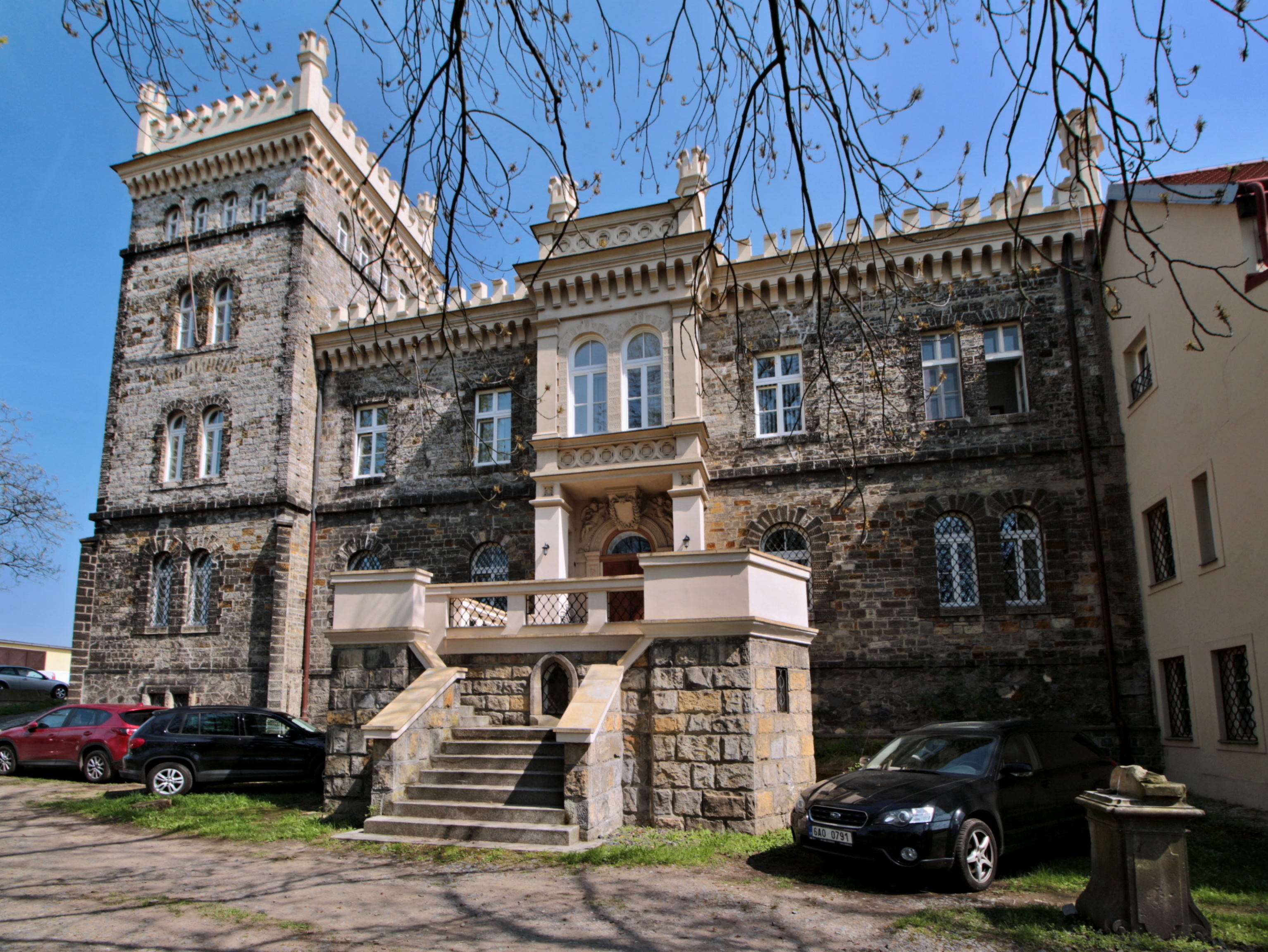 Замок Глоубетин (Zámek Hloubětín)
