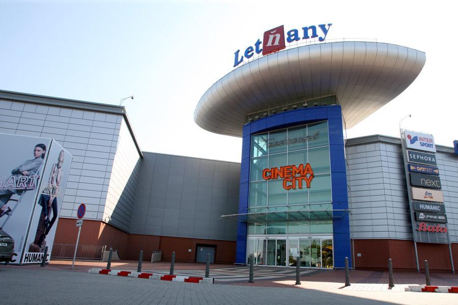 Торгово-развлекательный комплекс Летняны (Letňany) в Праге