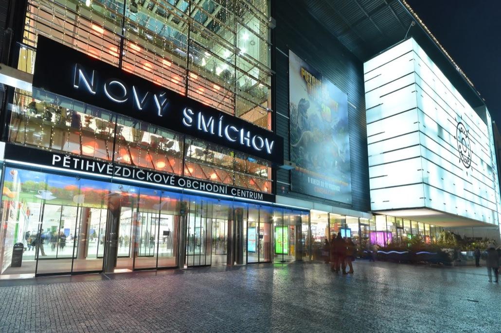 Торговый центр Новый Смихов (Nový Smíchov)