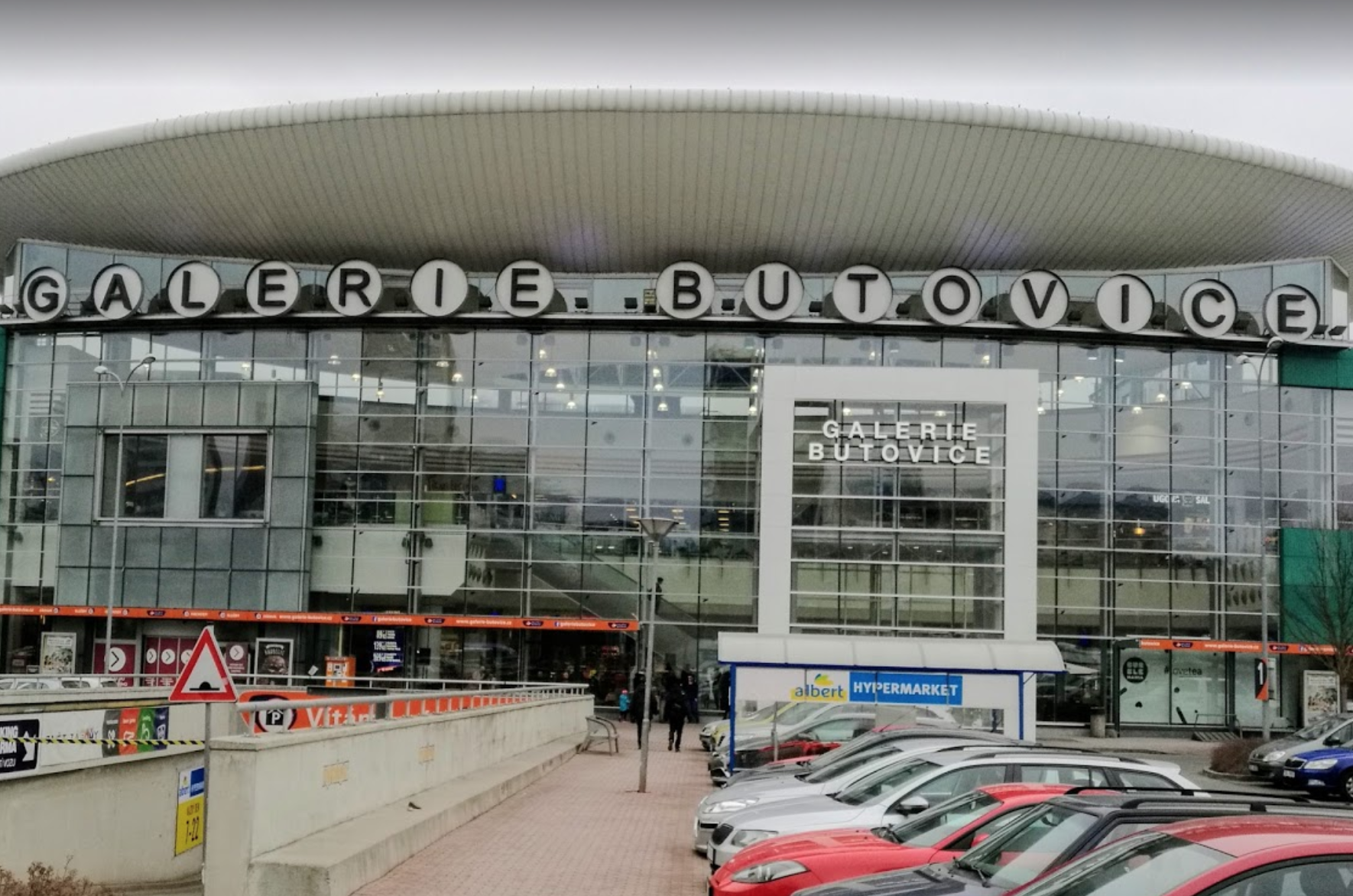 Торговый центр Galerie Butovice (Бутовице) в Праге