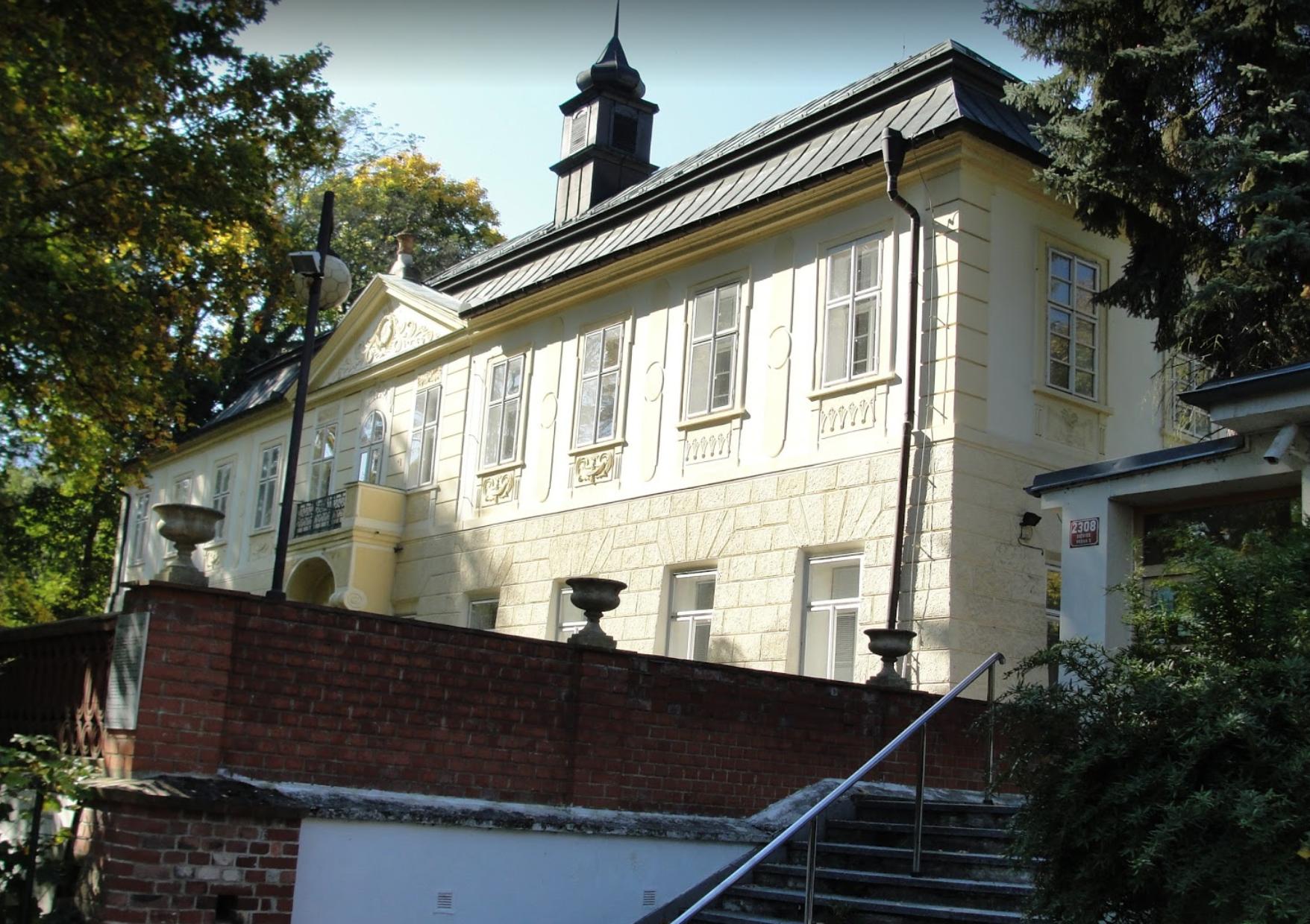 Малый замок Енералка (Malý zámek Jenerálka) в Праге