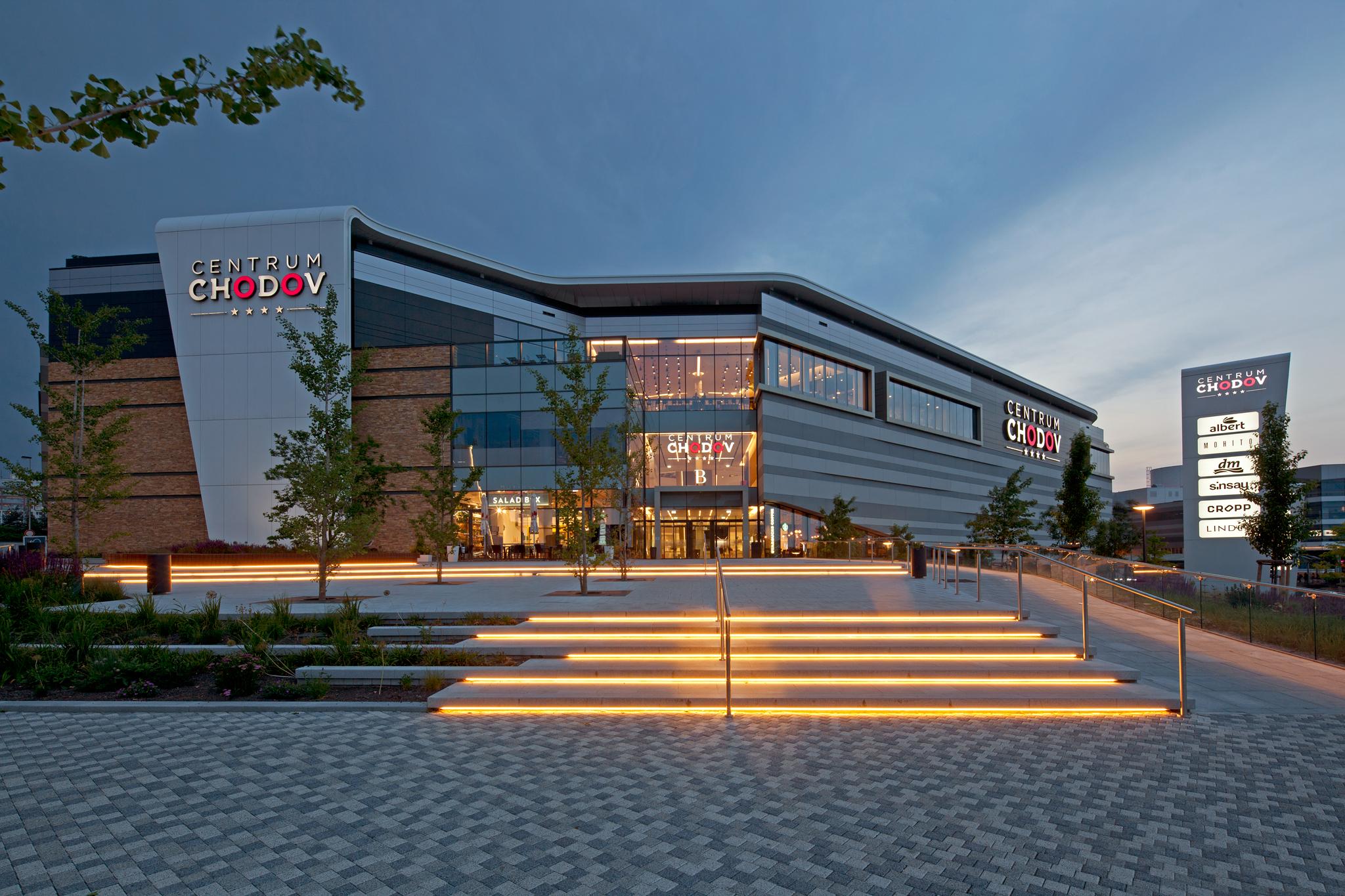Торговый центр Ходов (Chodov) в Праге